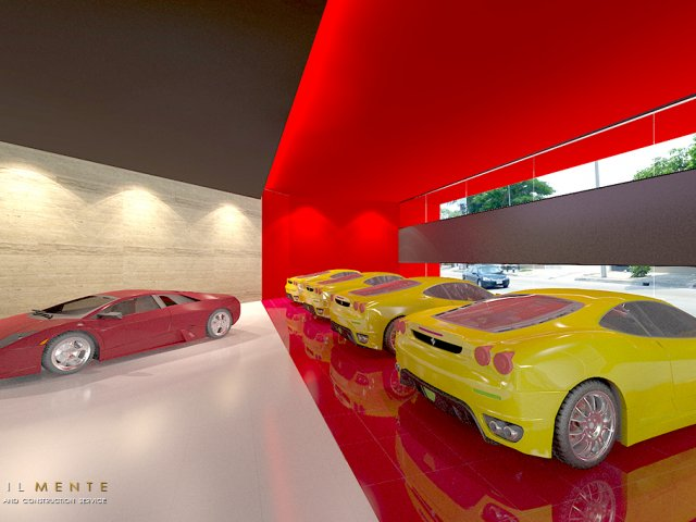 SUPERCAR SHOWROOM
