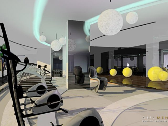 FITNESS CENTER @CHATRIUM HOTEL